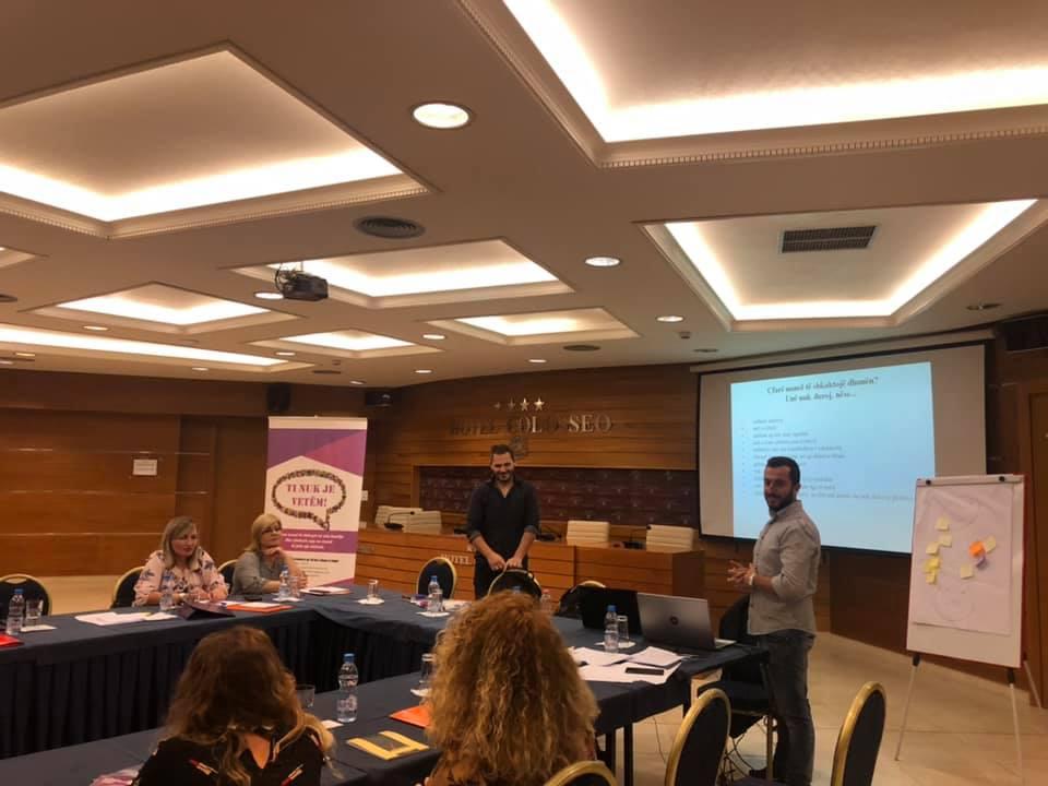 Trajnim me punonjësit e Burgjeve dhe Shërbimit të Provës të qyteteve të Shkodrës, Lezhës, Tropojës dhe Kukësit.
